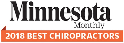2018 Minnesota Monthly Best Chiropractor